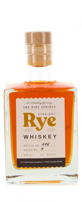The Nine Springs Straigth Rye