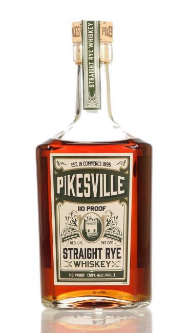 Pikesville Straight Rye 110 Proof