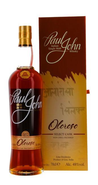 Paul John Oloroso Select Cask