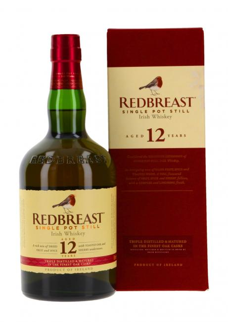 Redbreast inkl. gratis Untersetzer mit irischen Whiskey-Marken