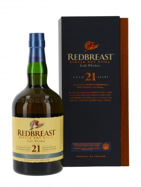 Redbreast - neues Design