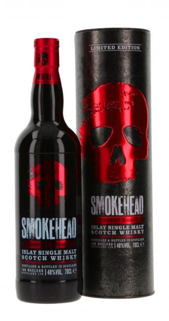 Smokehead Sherry Bomb inkl. gratis Smokehead Maske