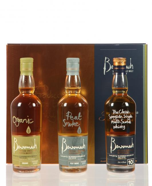 Benromach Triple Pack
