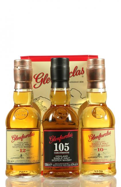 Glenfarclas Triple Pack 10/105/12