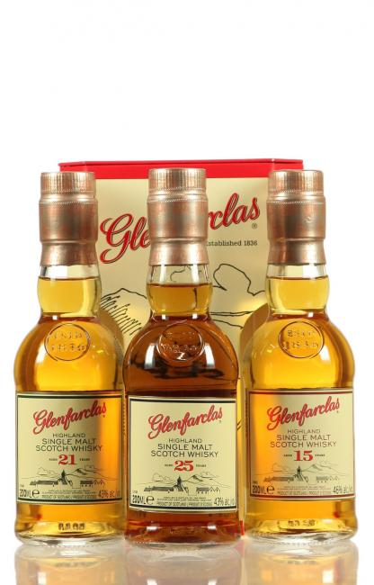 Glenfarclas Triple Pack 15/21/25