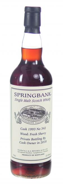Springbank Single Cask Sherry