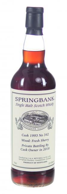 Springbank Single Cask Sherry