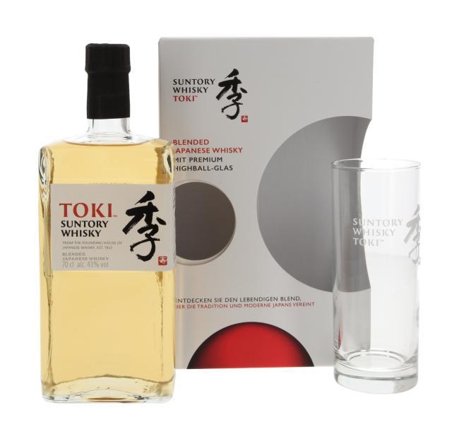 Suntory Whisky Toki mit Highball Glas