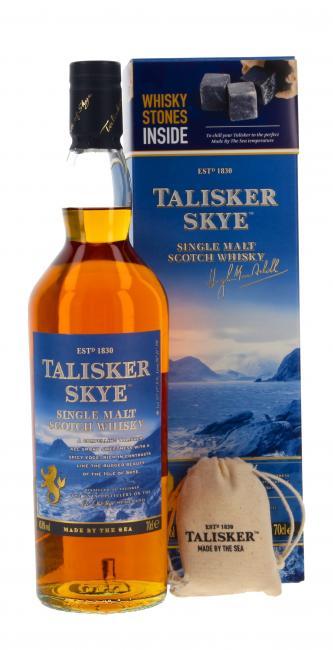 Talisker Skye mit Whiskysteinen