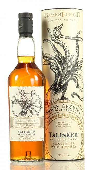 Talisker Select Reserve House Greyjoy - Game of Thrones