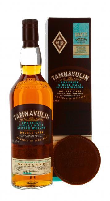 Tamnavulin Double Cask mit Untersetzer