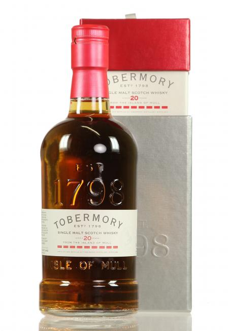 Tobermory Sherryfass Finish