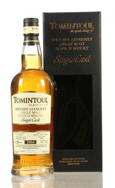 Tomintoul Single Cask Sherry