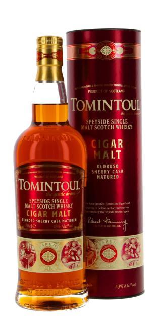 Tomintoul Cigar Malt