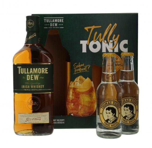 Tullamore D.E.W. mit Thomas Henry Tonic Water