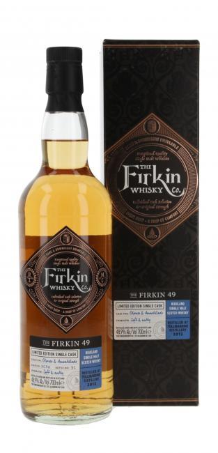 Tullibardine Oloroso & Amontillado - The Firkin 49