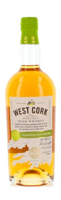 West Cork Calvados inkl. gratis Untersetzer mit irischen Whiskey-Marken