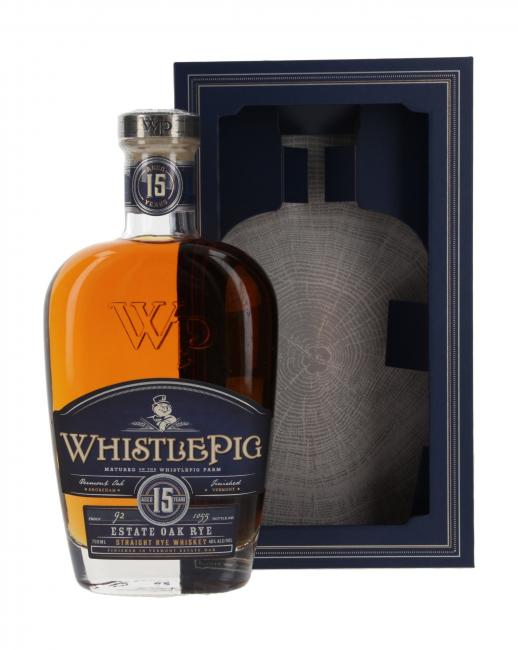 WhistlePig Estate Oak Rye