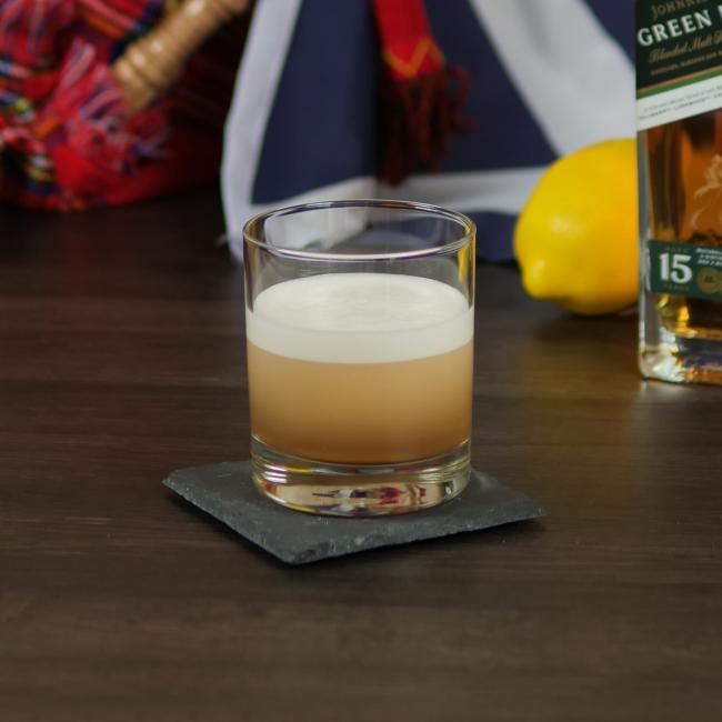 Cocktail Set Perfect Scotch Sour