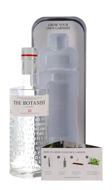 The Botanist 22 Islay Dry Gin mit Pflanzkasten