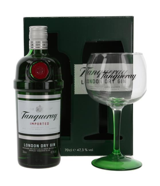 Tanqueray Gin mit Copa Glas