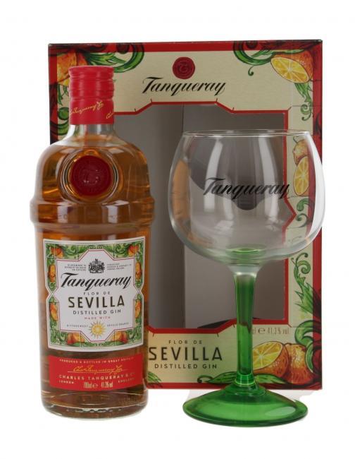 Tanqueray Sevilla Gin mit Copa Glas