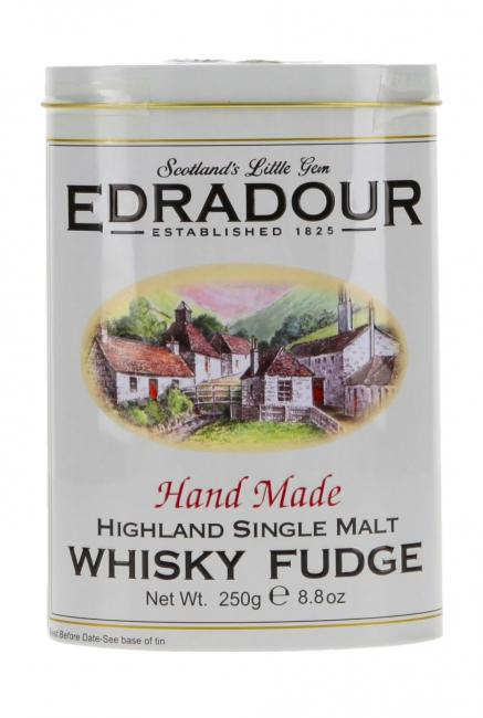 Gardiner's Fudge mit Edradour in Blechdose