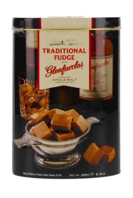 Gardiner's Fudge mit Glenfarclas in Blechdose