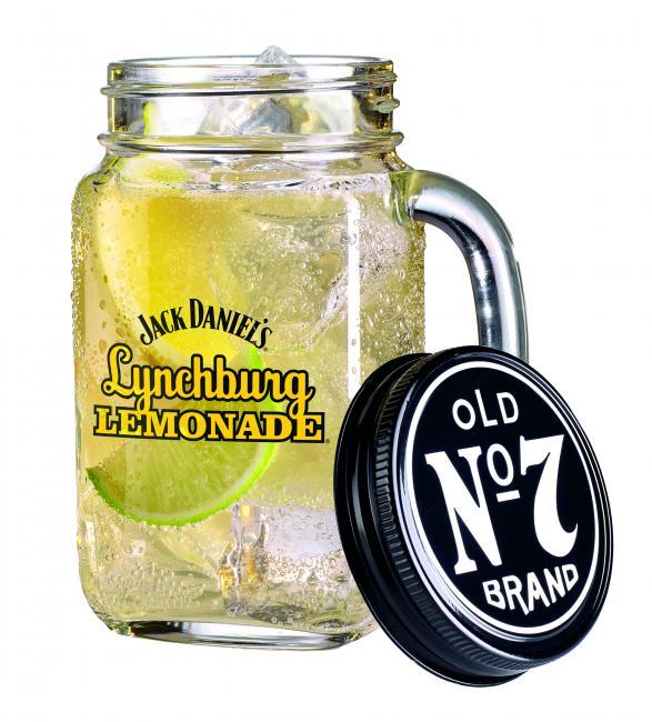 Jack Daniels Lemonade Glas