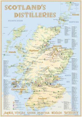 Tasting Map Schottland