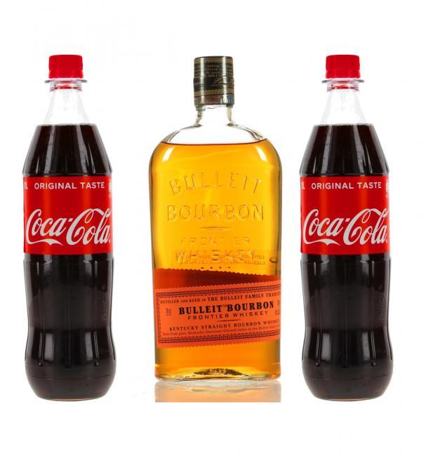 Cocktail Set Bulleit Bourbon & Cola