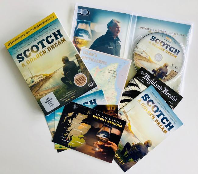 DVD Scotch - A Golden Dream