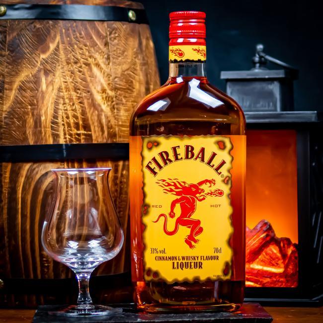 Fireball Cinnamon Whisky Liqueur