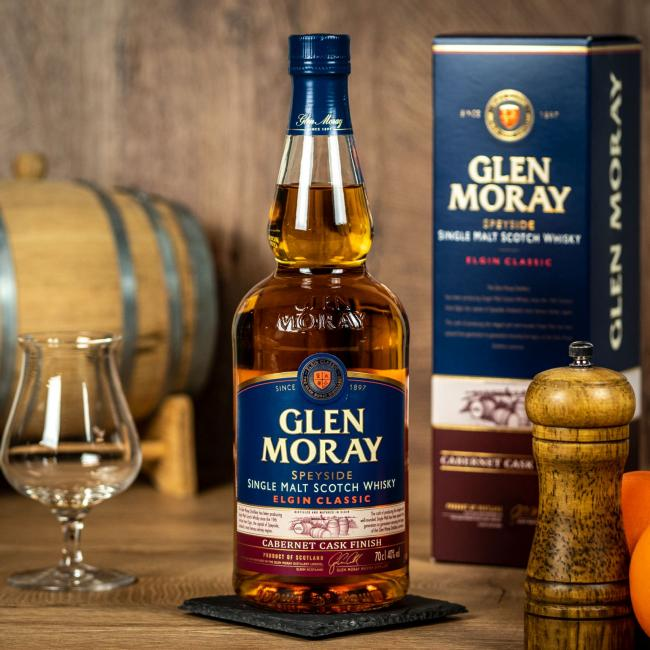 Glen Moray Cabernet Cask Finish