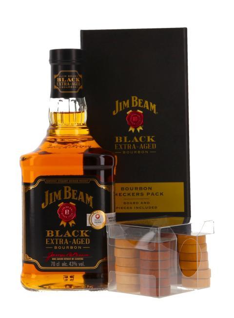 Jim Beam Black Checkers Pack