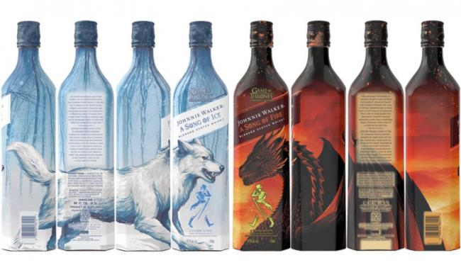 Johnnie Walker a Song of Fire - Game of Thrones