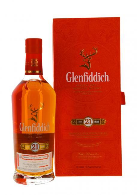 Miniatur Glenfiddich Rum Finish