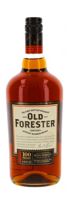 Miniatur Old Forester 100 Proof
