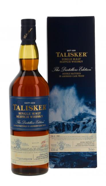 Miniatur Talisker Distillers Edition