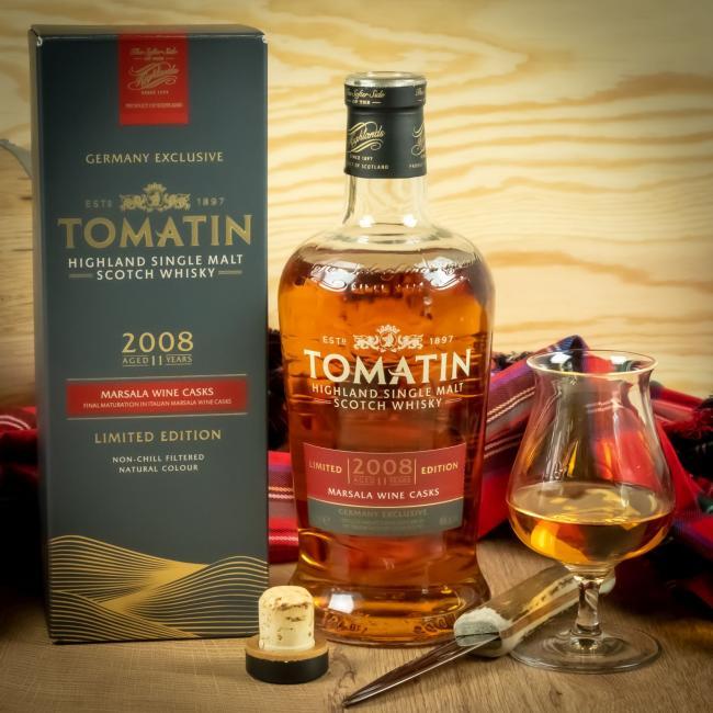 Tomatin Marsala Barriques Whisky.de - Clubflasche 2020