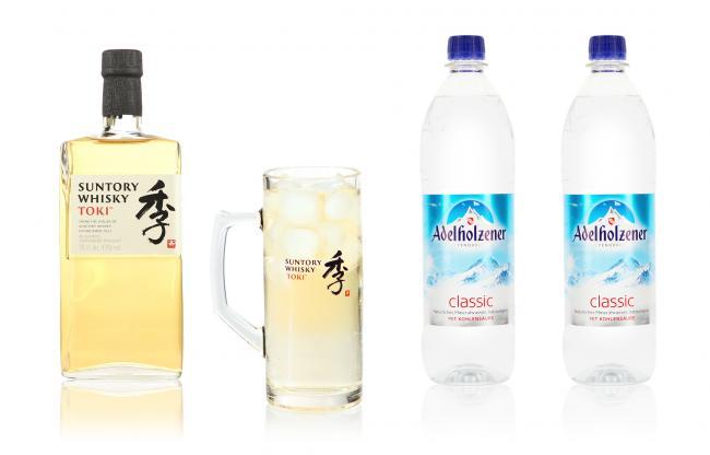 Cocktail Set Highball mit Suntory Toki