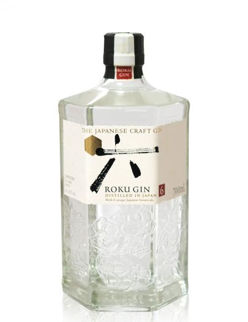 Suntory Roku Japanese Craft Gin mit Carry Bag