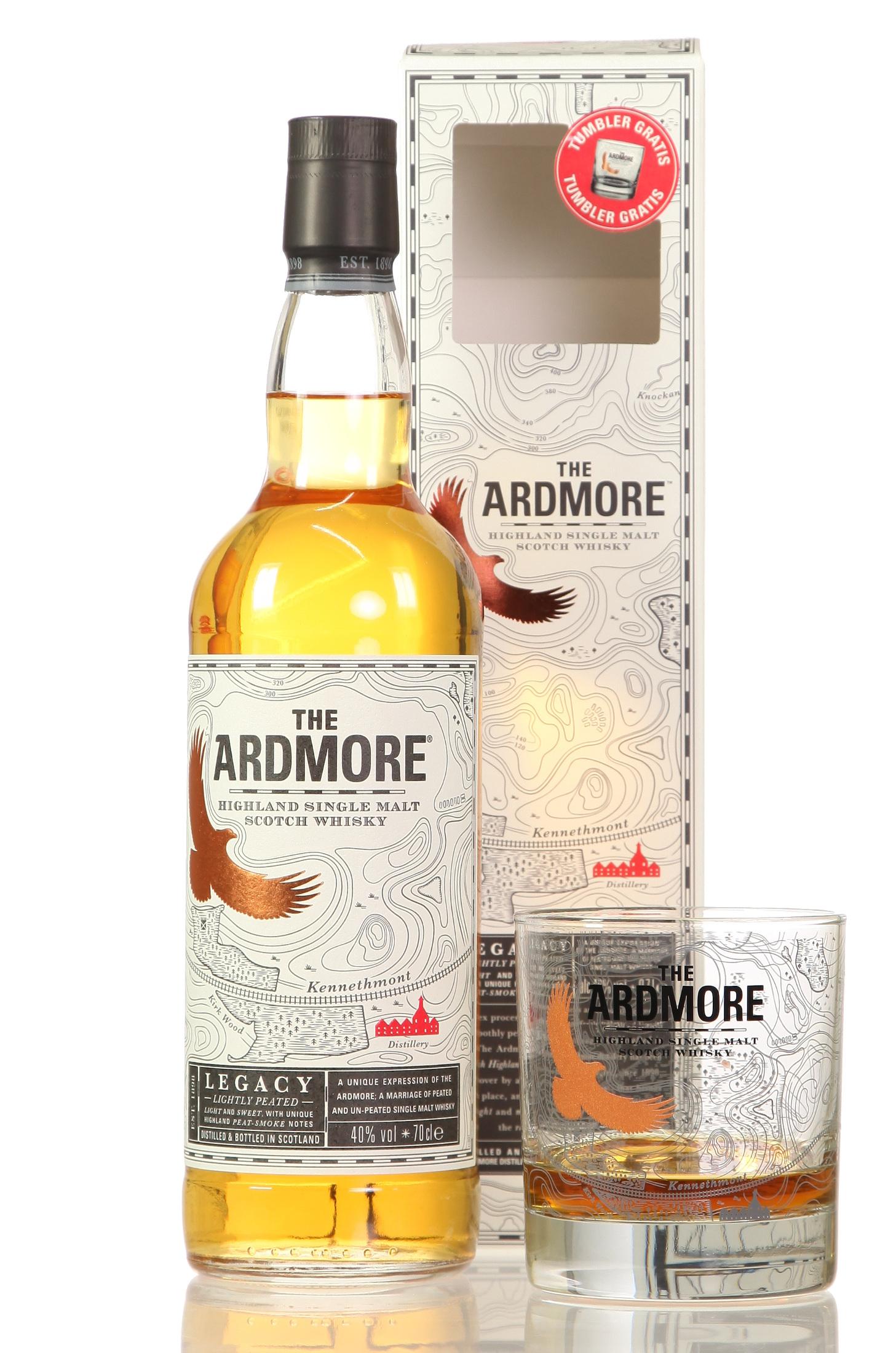 Ardmore Legacy mit Tumbler