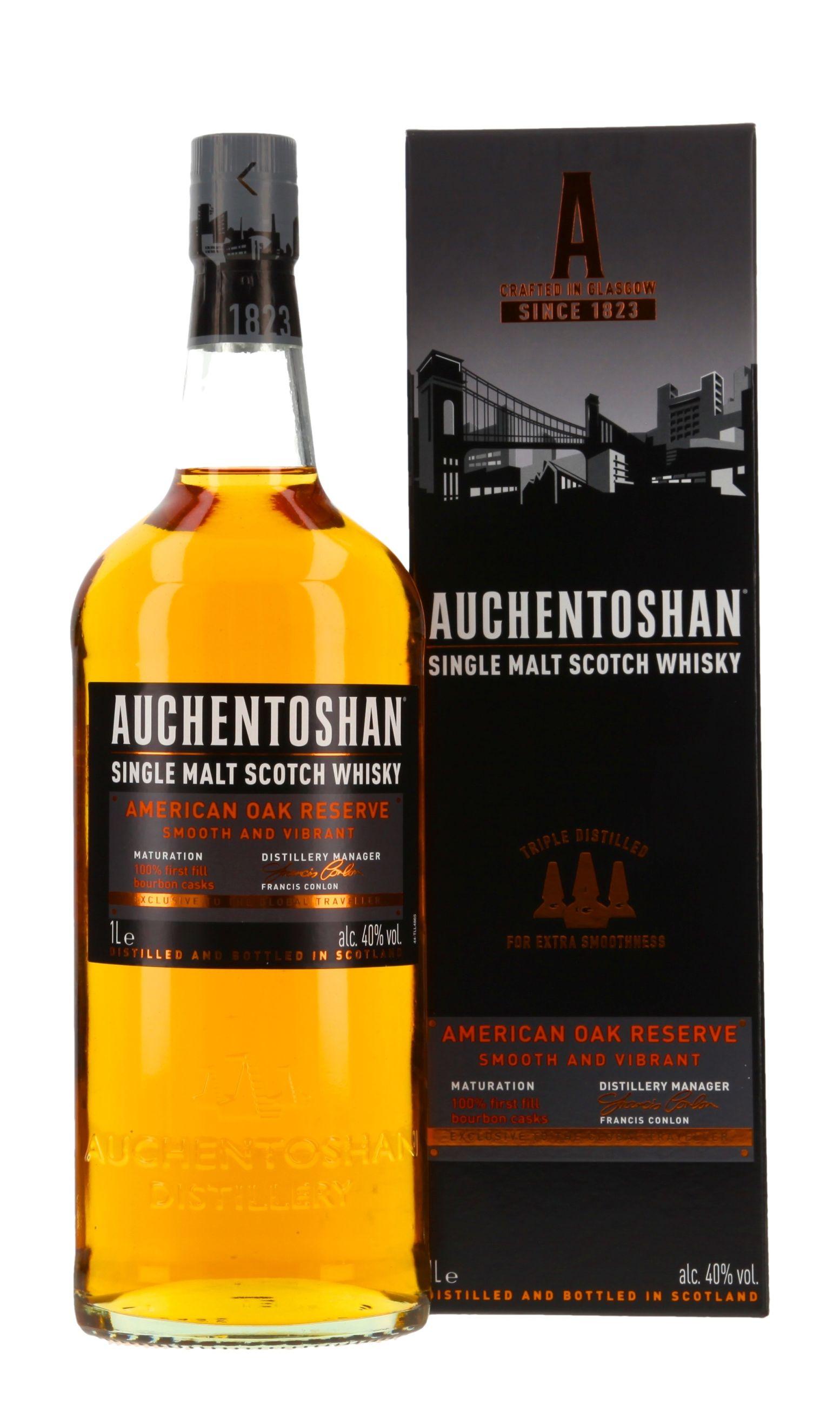 Auchentoshan American Oak Reserve Whisky De Zum Online Shop