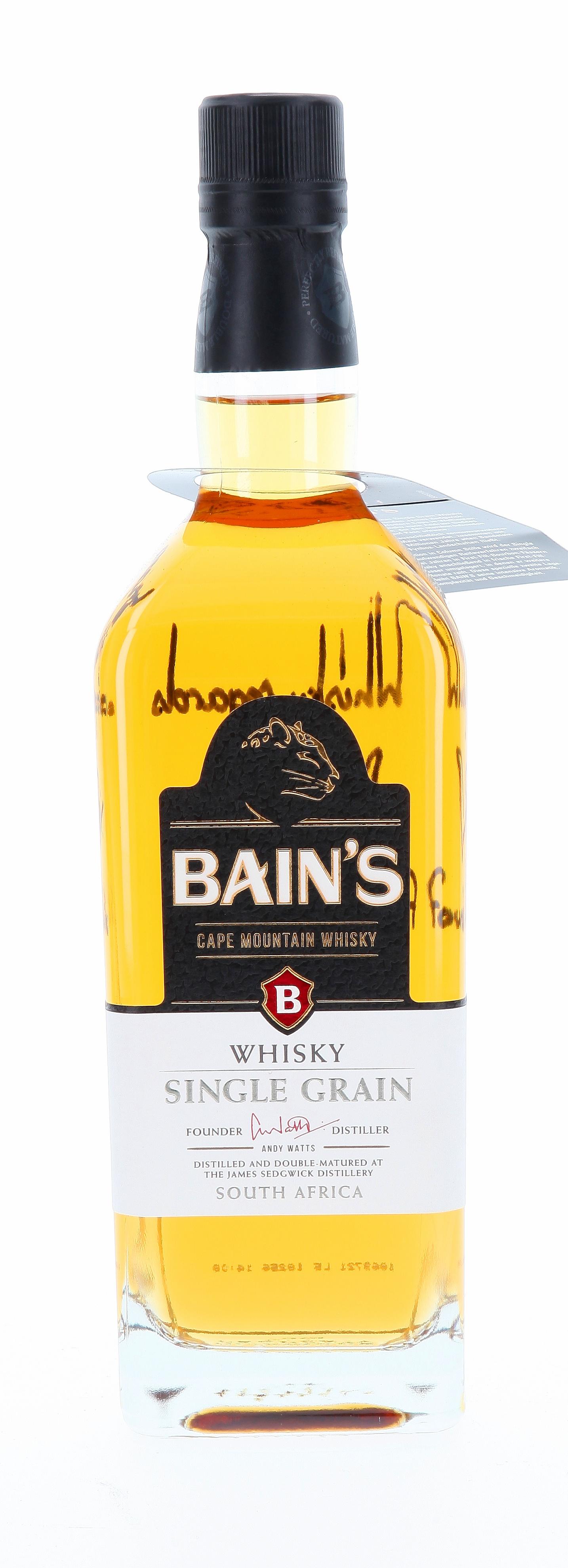 Bain's Cape Mountain mit Widmung