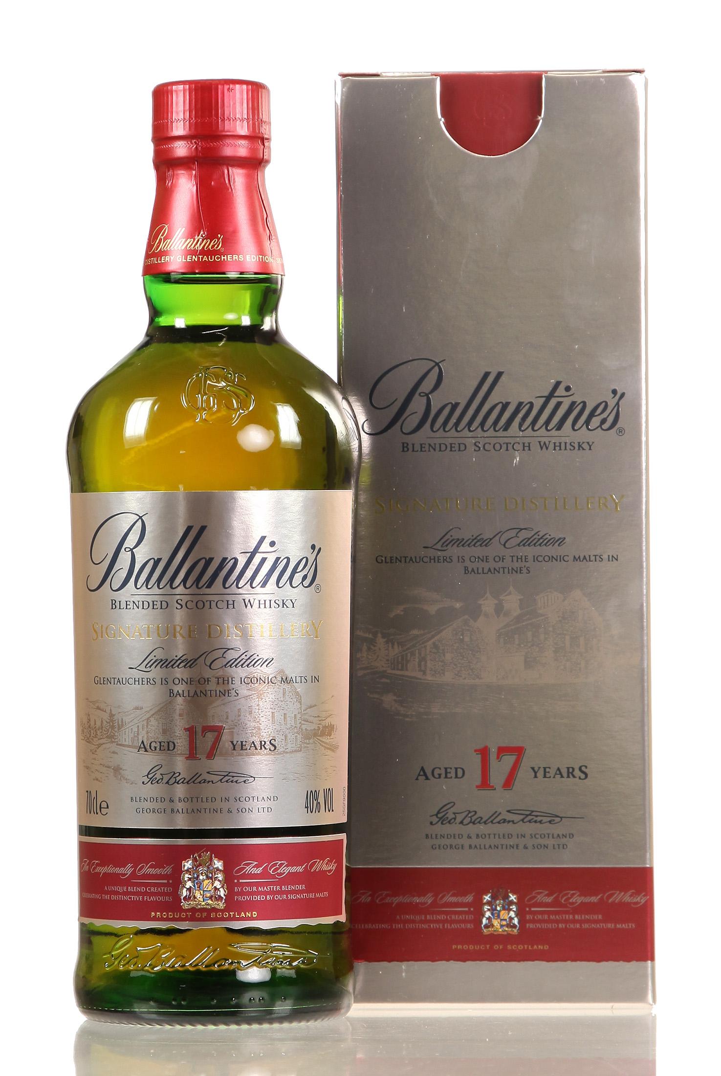Ballantine's Signature Distillery Glentauchers