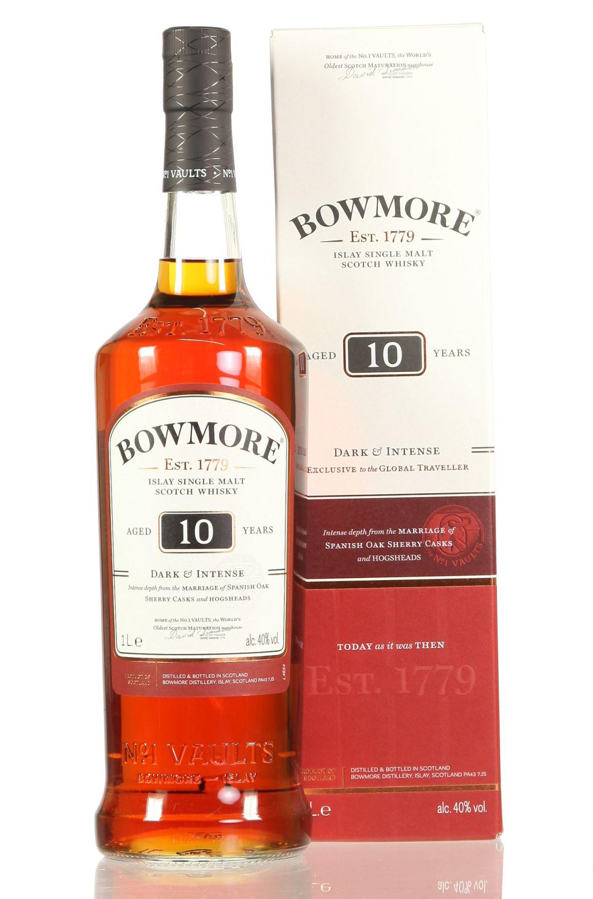 Bowmore 40% Dark & Intense