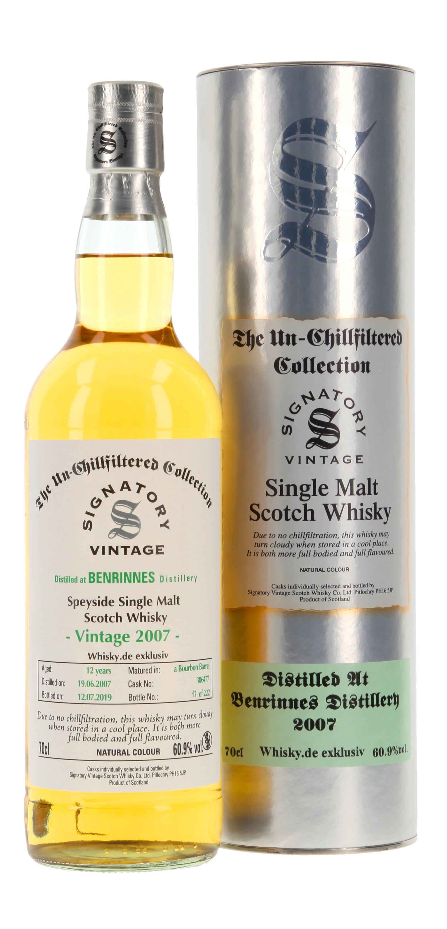 Benrinnes Cask Strength 'Whisky.de exklusiv'