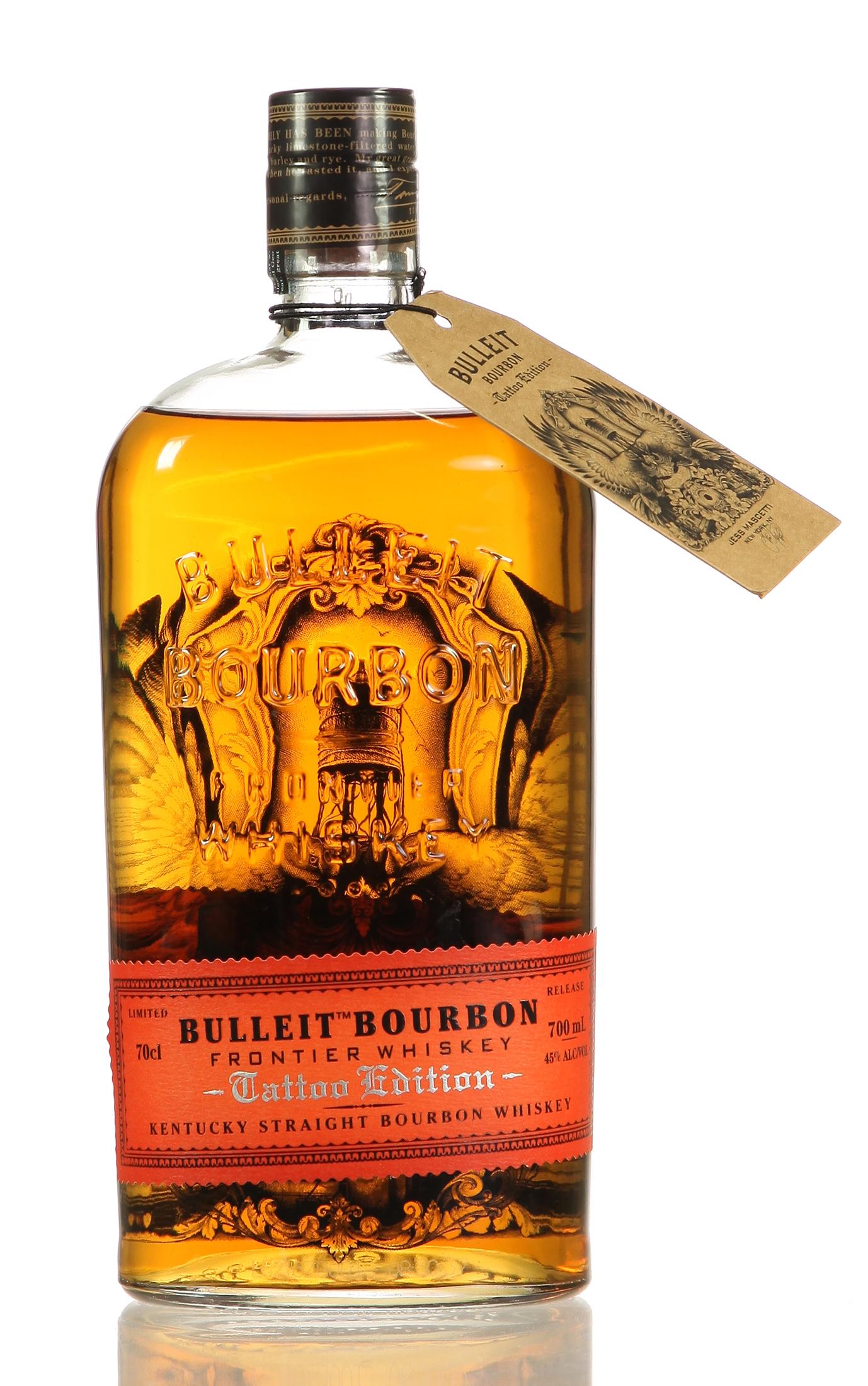 Bulleit Bourbon Tattoo Edition