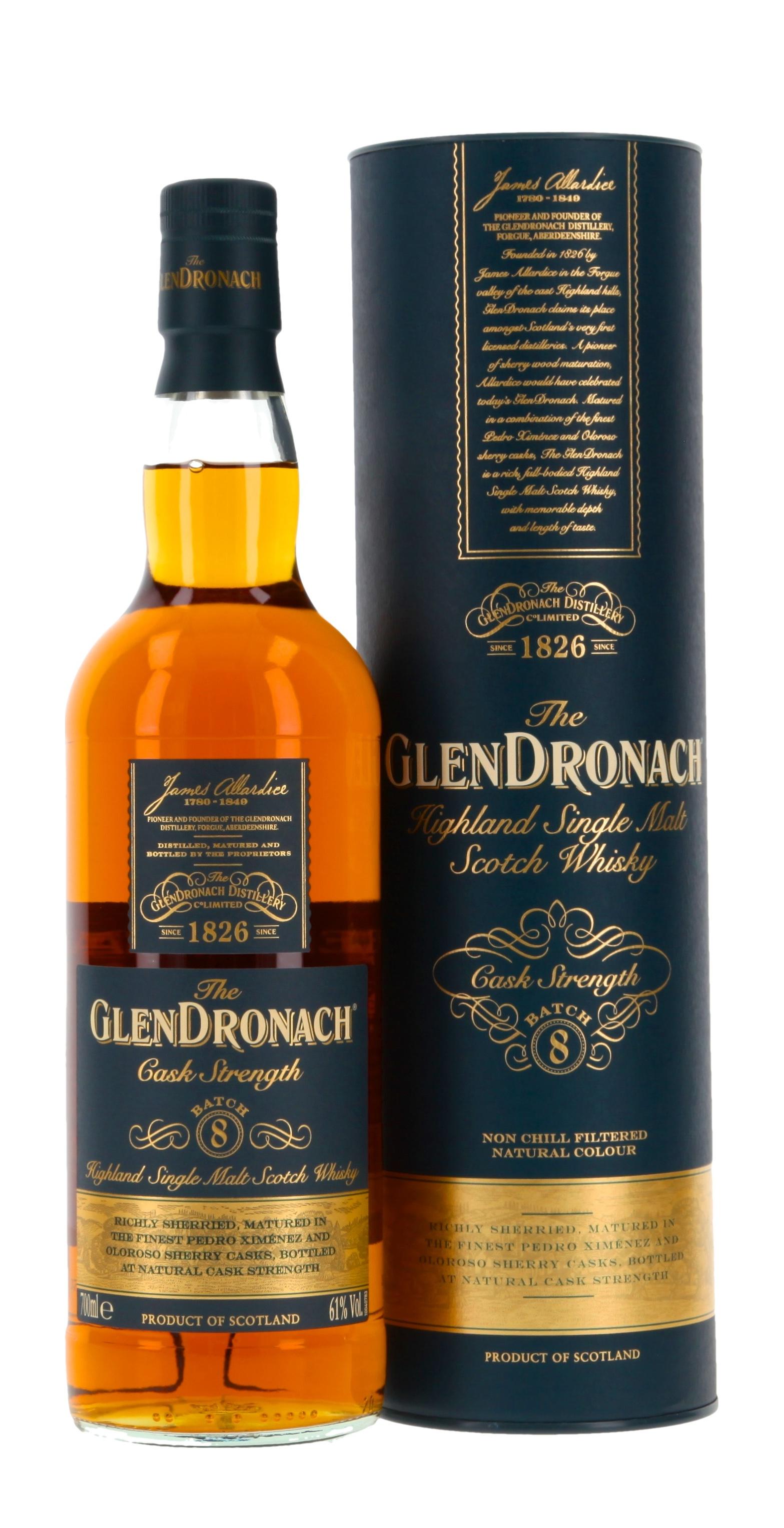 Glendronach Cask Strength Batch 8